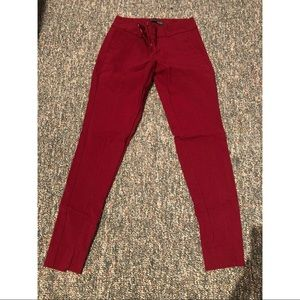 Maroon Dress Pants 0R The Limited